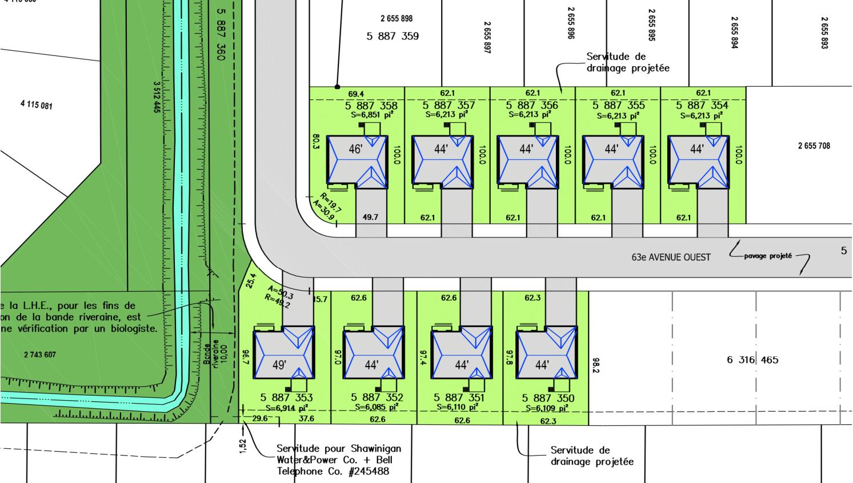 Blainville 63 plan temporaire